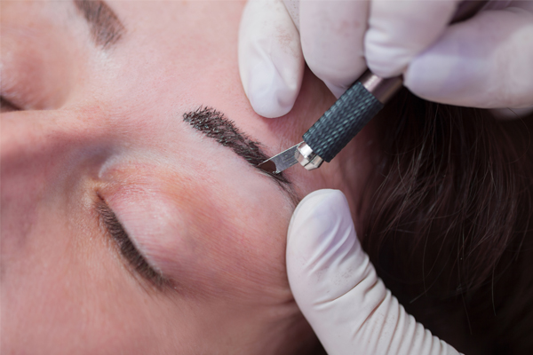 Permanent eyebrows Spring Lake Park